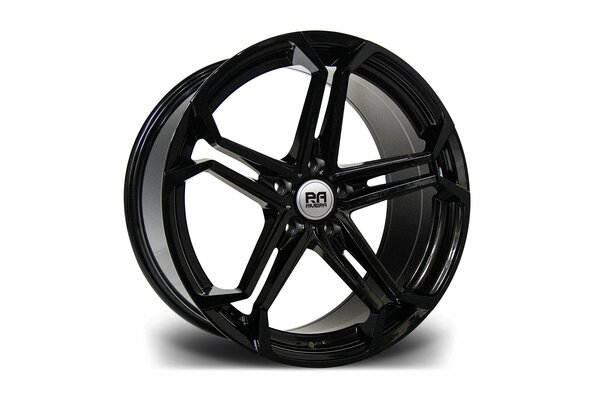 RIVIERA ATLAS 20X8.5 5X120 ET 35 72.6 GLOSS BLACK