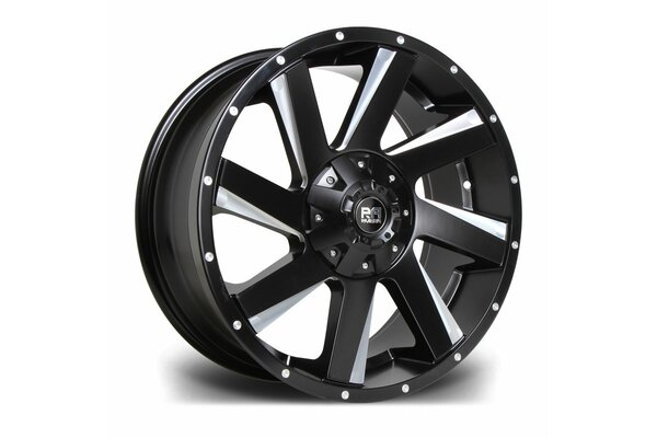 RIVIERA XTREME RX100 20X9 6X114.3 20 66.1 BLACK POLISHED