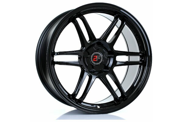2FORGE ZF5 | 5X100 | 18x9 | ET 0 TO 35 | 76 | GLOSS BLACK