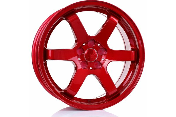 BOLA B1 | 5X100 | 17x7,5 | ET 40 TO 45 | 76 | CANDY RED