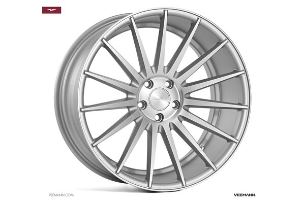 Veemann VC7|19x9.5|5x112|ET48|MATT-SILVER-MACHINED|DEEP-CONCAVE
