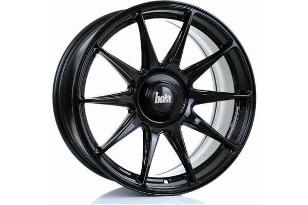 BOLA B15 | 4X98 | 17x8 | ET 35 TO 45 | 76 | GLOSS BLACK
