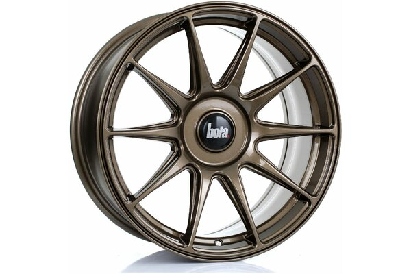 BOLA B15 | 5X100 | 17x8 | ET 35 TO 45 | 76 | GLOSS BRONZE