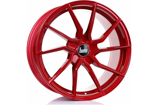 BOLA B25 | 5X100 | 18x8,5 | ET 25 TO 45 | 76 | CANDY RED
