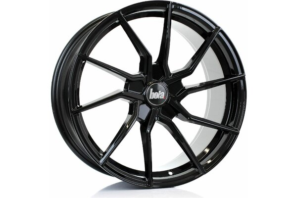 BOLA B25 | 5X100 | 18x8,5 | ET 25 TO 45 | 76 | GLOSS BLACK