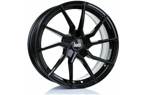 BOLA B25 | 5X100 | 17x7,5 | ET 40 TO 45 | 76 | GLOSS BLACK