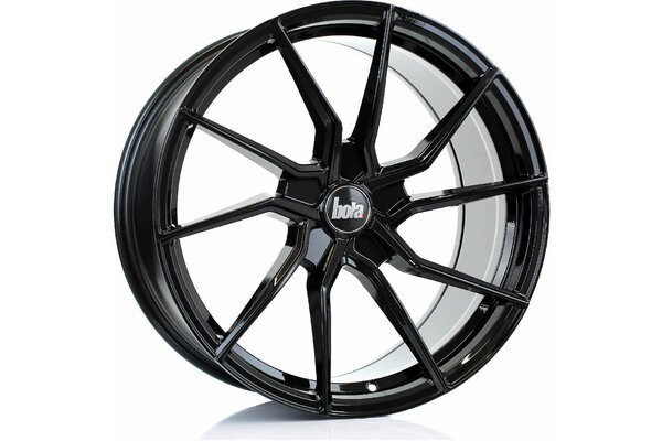 BOLA B25 | 5X100 | 19x9,5 | ET 25 TO 45 | 76 | GLOSS BLACK