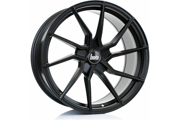 BOLA B25 | 5X100 | 19x9,5 | ET 25 TO 45 | 76 | MATT BLACK
