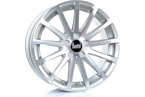 BOLA XTR | 5X100 | 18x8,5 | ET 40 TO 55 | 76 | SILVER...