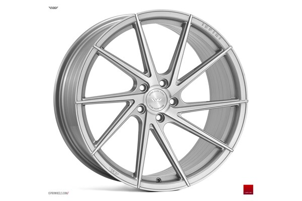 Ispiri Wheels FFR1D|20x10.5|5x120|ET30|PURE-SILVER-BRUSHED|LEFT-DEEP-CONCAVE
