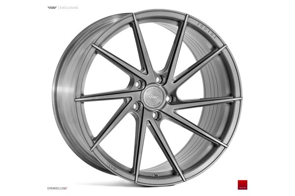 Ispiri Wheels FFR1D|20x10.5|5x120|ET30|FULL-BRUSHED-CARBON-TITANIUM-IW-ExCLUSIVE|RIGHT-DEEP-CONCAVE