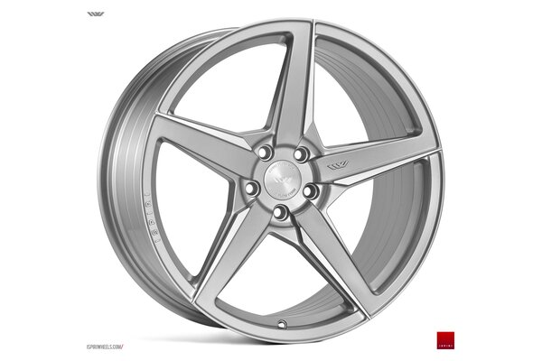 Ispiri Wheels FFR5|20x8.5|5x112|ET42|PURE-SILVER-BRUSHED|PERFORMANCE-CONCAVE