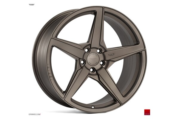 Ispiri Wheels FFR5|21x10.5|5x112|ET43|MATT-CARBON-BRONZE|DEEP-CONCAVE