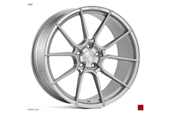 Ispiri Wheels FFR6|20x10.5|5x112|ET30|PURE-SILVER-BRUSHED|DEEP-CONCAVE