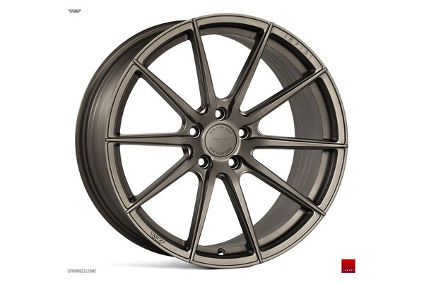Ispiri Wheels FFR1|19x9.5|5x112|ET45|MATT-CARBON-BRONZE-IW-ExCLUSIVE|DEEP-CONCAVE