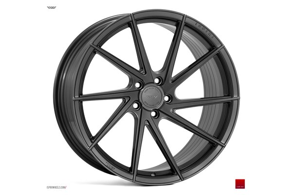 Ispiri Wheels FFR1D|21x10.5|5x112|ET30|CARBON-GRAPHITE|RIGHT-DEEP-CONCAVE