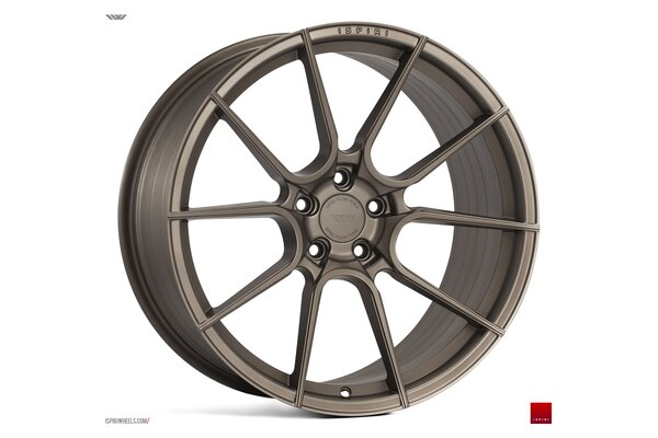Ispiri Wheels FFR6|19x9.5|5x112|ET38|MATT-CARBON-BRONZE|DEEP-CONCAVE
