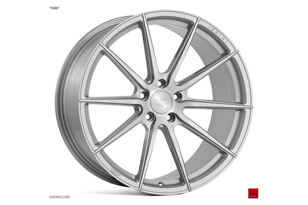 Ispiri Wheels FFR1|19x9.5|5x114.3|ET40|PURE-SILVER-BRUSHED|DEEP-CONCAVE