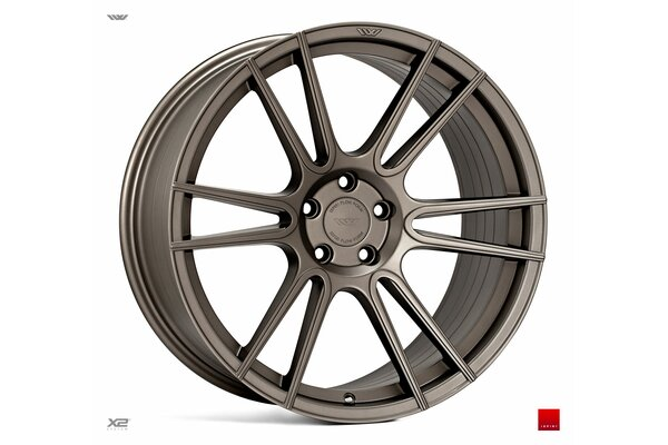 Ispiri Wheels FFR7|20x8.5|5x112|ET42|MATT-CARBON-BRONZE|PERFORMANCE-CONCAVE