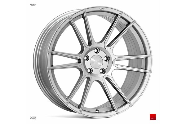 Ispiri Wheels FFR7|20x10|5x120|ET45|PURE-SILVER-BRUSHED|DEEP-CONCAVE