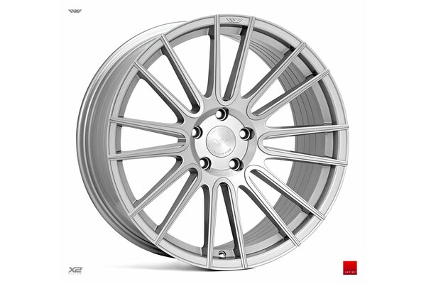 Ispiri Wheels FFR8|20x9|5x112|ET35|PURE-SILVER-BRUSHED|PERFORMANCE-CONCAVE