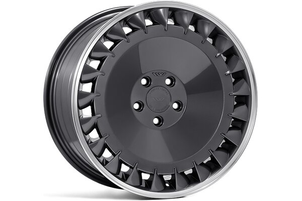 Ispiri Wheels CSRDTF|19x10|5x112|ET42|CARBON-GRAPHITE-POLISHED-LIP|RIGHT-DEEP-CONCAVE