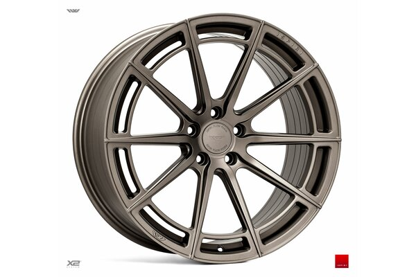 Ispiri Wheels FFR2|20x8.5|5x112|ET42|MATT-CARBON-BRONZE|PERFORMANCE-CONCAVE