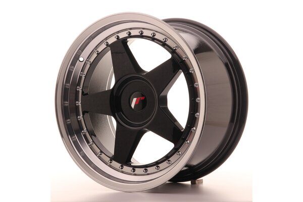 Japan Racing JR6 18x9,5 ET20-40 Blank Glossy Black