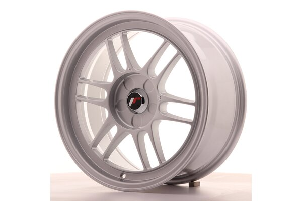 Japan Racing JR7 17x8 ET35 5H Blank Silver